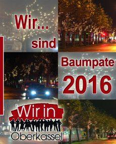Wir sind Baumpate 2016