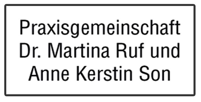 Dr. Ruf und Anne Kerstin Son